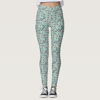 Green Mermaid Tail Leggings