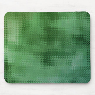 Green Mesh Glass Effect Art Mouse Pad