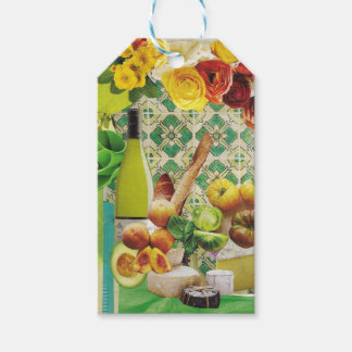 Green Mexican Tile Gift Tags