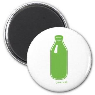 Green Milk magnet