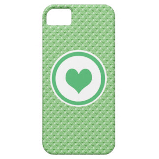 Green Mini Hearts Barely There iPhone 5 Case