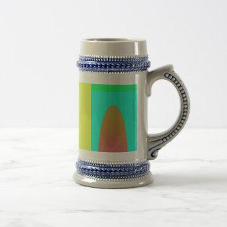 Green Minimalism Mugs