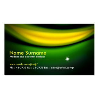 green miracle business card standard business cards