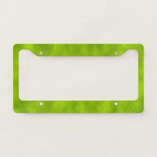 Green Mist/Haze/Fog-Like Pattern Licence Plate Frame