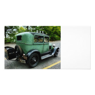 Green Model A Picture Card