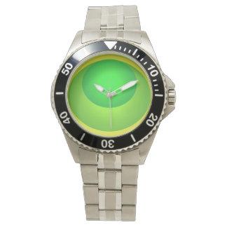 Green Modern Popart Beach Watch