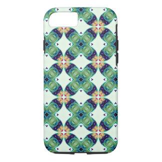 Green Molecule Kaleidoscope Art Abstract Science iPhone 7 Case