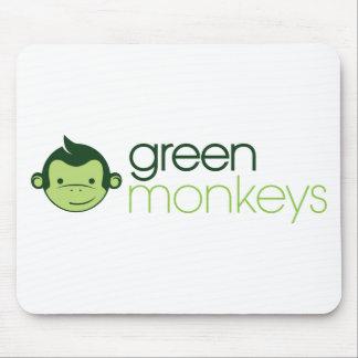 Green Monkeys Mouse Pad