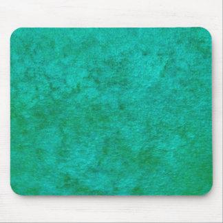 green monochrome pattern mouse pad
