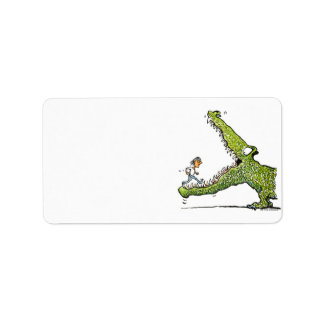 Green Monster Address Label