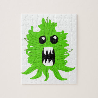 Green Monster Baby Apparel Jigsaw Puzzle