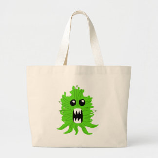 Green Monster Baby Apparel Large Tote Bag