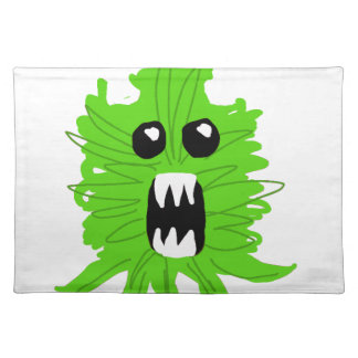 Green Monster Baby Apparel Placemat