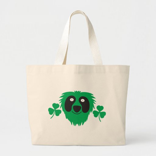 GREEN MONSTER TOTE BAGS