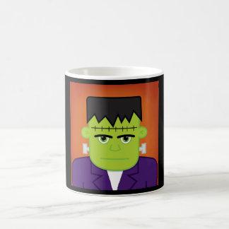 Green monster coffee mug