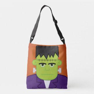 Green monster crossbody bag
