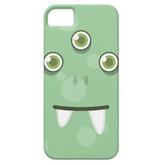 Green Monster Face iPhone Case iPhone 5/5S Covers