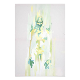 green monster ghost nightmare death painting photographic print