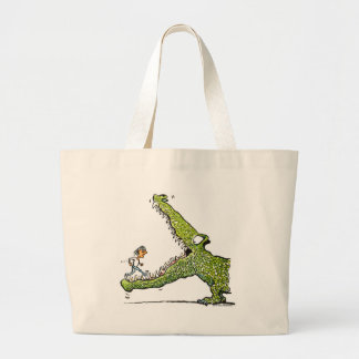 Green Monster Jumbo Tote Bag