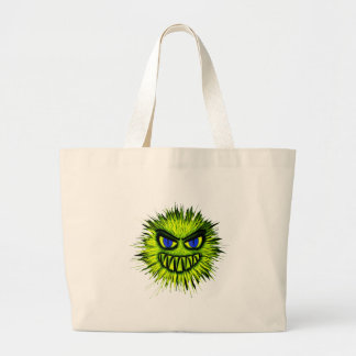 Green Monster Large Tote Bag