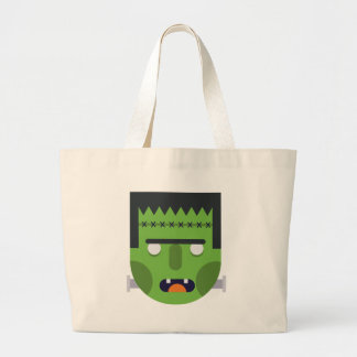 Green Monster Large Tote Bag