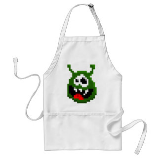 Green Monster - Pixel Art Standard Apron