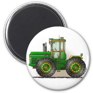 Green Monster Tractor Magnets