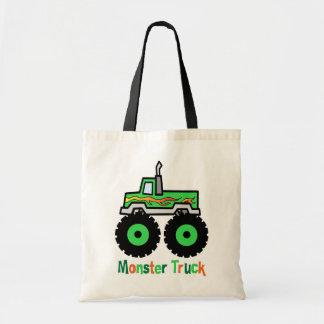 Green Monster Truck Bags