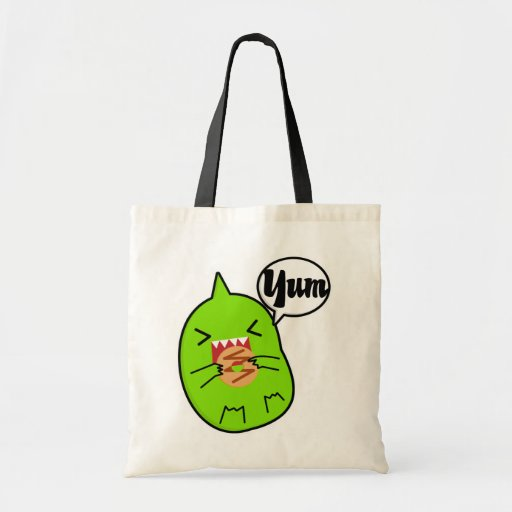 Green Monster With Cookie Bag