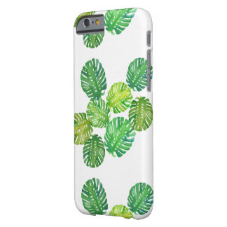 Green Monstera Jungle iPhone Cover Case