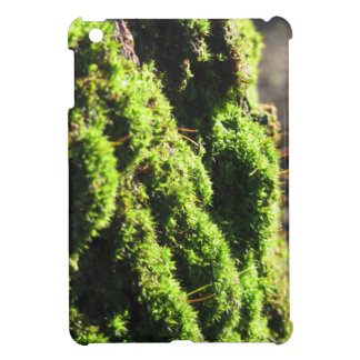Green moss in nature  Detail of moss covered trunk Cover For The iPad Mini
