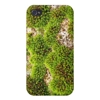 Green Moss Rock Case For The iPhone 4