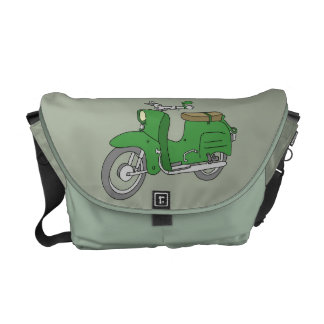 """Green Motorscooter """"Schwalbe"""" Courier Bags"""