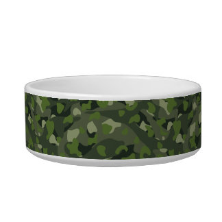 Green mountain disruptive camouflage bowl