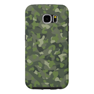 Green mountain disruptive camouflage samsung galaxy s6 cases