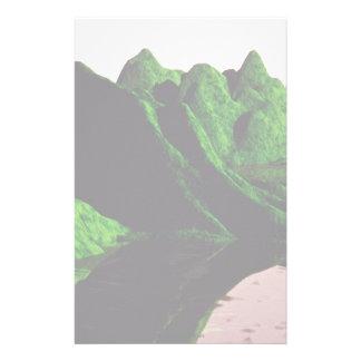 Green mountain custom stationery