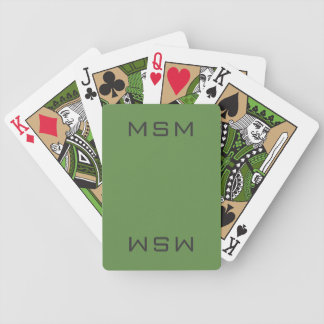 Green MSM Playing cards