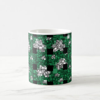 Green mug for St. Patrick's Day