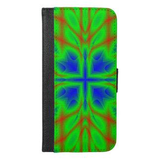 Green multicolored pattern