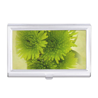 Green Mums Business Card Cases