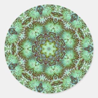 Green Mums Classic Round Sticker