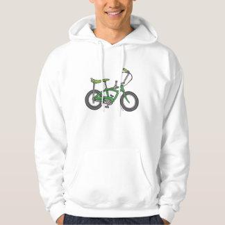 Green Muscle Bike Hoodie
