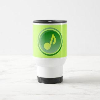 green music icon mug
