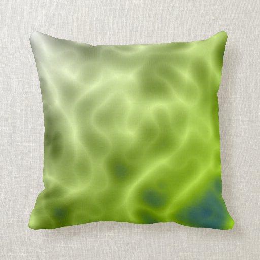 Green Mystic American MoJo Pillow