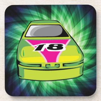 Green Nascar Coaster