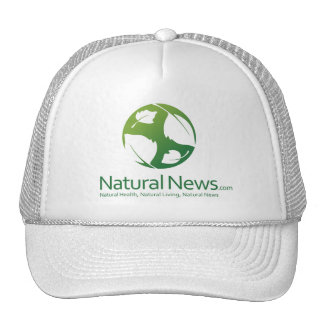 Green Natural News Trucker Cap