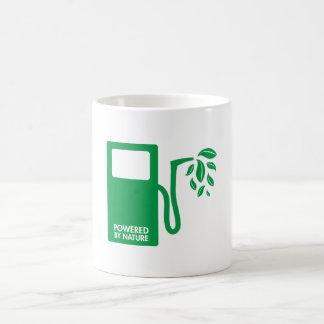 Green Nature Biofuel Basic White Mug