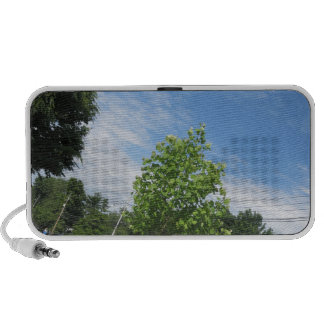 GREEN nature tree skyline NewJersey USA NVN675  GI Portable Speakers