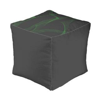 Green Neon Pouf