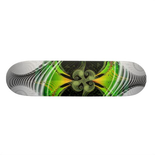 Green Nirvana Skateboard Deck